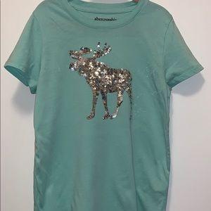 Abercrombie kids t shirt girls size 7/8